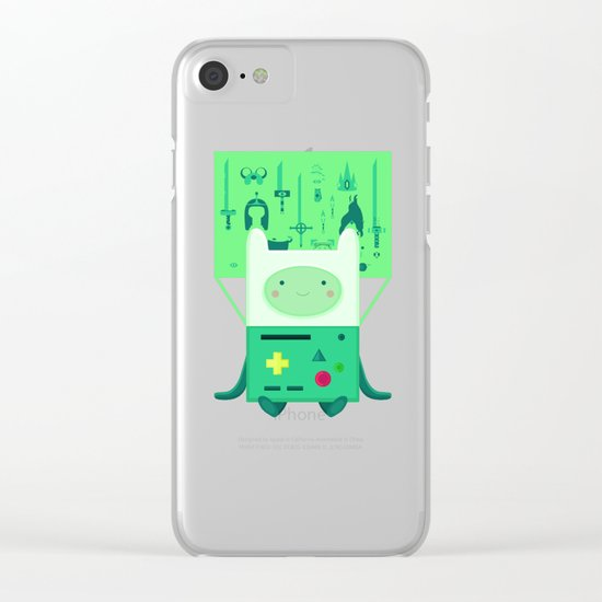 Make Believe Clear iPhone Case
