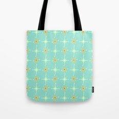 Retro Stars Tote Bag