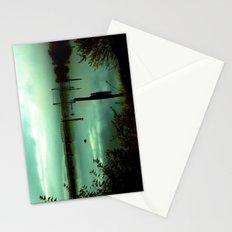 Green Bridge  Stationery Cards