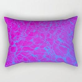 Aquatic Magenta Rectangular Pillow