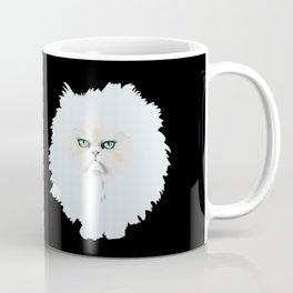 Fluffy nasty cat 2  Coffee Mug