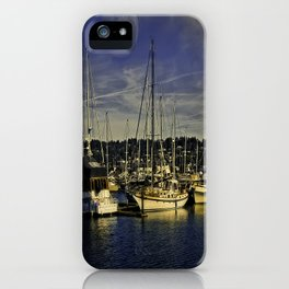 Sleeping Ships iPhone Case
