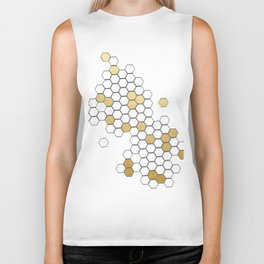 Honey Comb Biker Tank