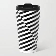 Stripes Metal Travel Mug