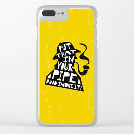 Smoke It! Clear iPhone Case