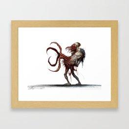 The Grabber Framed Art Print