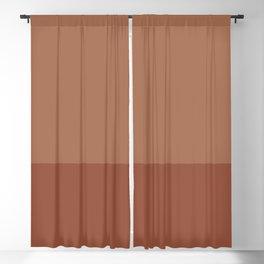 SIENNA x TERRACOTTA Blackout Curtain