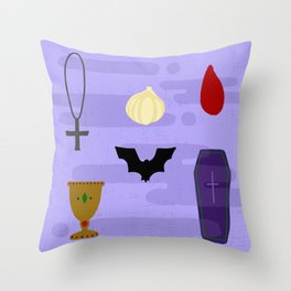 Vampires! Undead! 2019 Throw Pillow