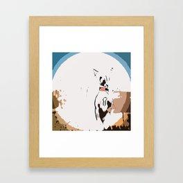 Chinese crested 7 Framed Art Print