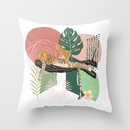 Cheetah #2 Throw Pillow