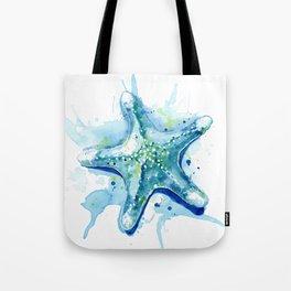 Starfish Waters II Tote Bag