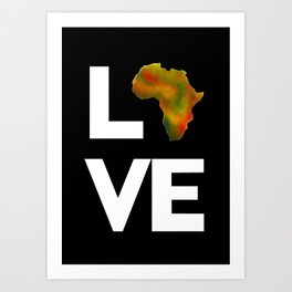 Motherland Love Art Print