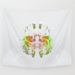Inknograph VI - Ink Blot Art Wall Tapestry