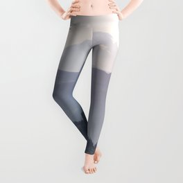 Mount Hood over the Columbia River Gorge Leggings