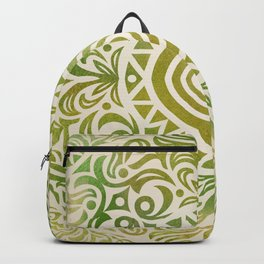 mandala6 Watercolor Mandala Backpack
