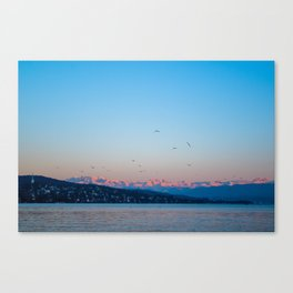 alpenglow Canvas Print