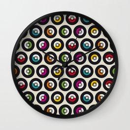Dancing vinyls Wall Clock