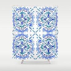 Amalfi Tile Shower Curtain