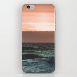 Perfect Ocean Sunset iPhone Skin