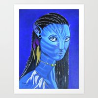 avatar Art Prints featuring Avatar by maggs326