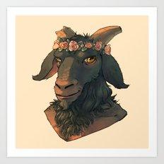 Goat Demon Art Print