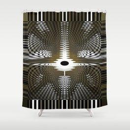 Energy Waves Shower Curtain