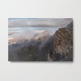 Sandia Mountains in the Fall Metal Print