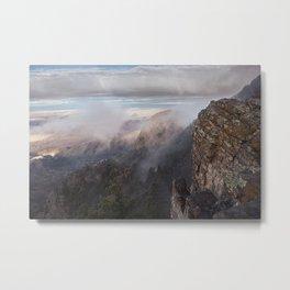 Sandia Mountains in the Fall Metal Print