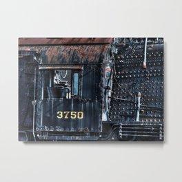 Train Cabin Metal Print