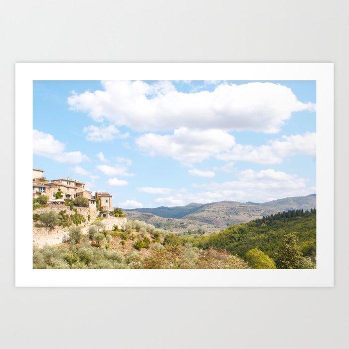 Rolling Hills of Tuscany Art Print