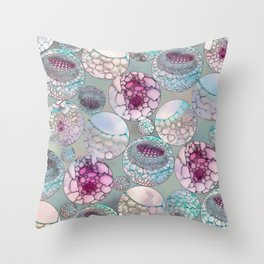 Cell Balls Throw Pillow