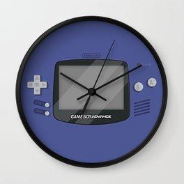 Gameboy Advance - Indigo Wall Clock