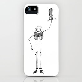 The Friendly Spider iPhone Case