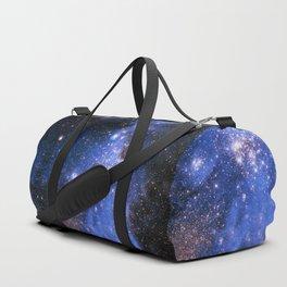 Blue Embrionic Stars Duffle Bag