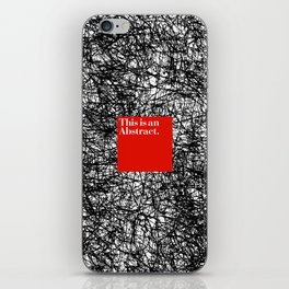 ABSTRACT CERTIFIED iPhone Skin