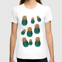 pineapples T-shirts featuring PINEAPPLES by Heaven7