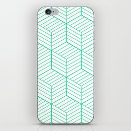 ZADA ((emerald green)) iPhone Skin