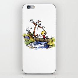 calvin and hobbes 03 [TW] iPhone Skin