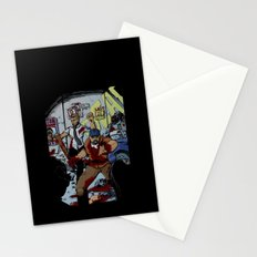 Zombie Rush  Stationery Cards