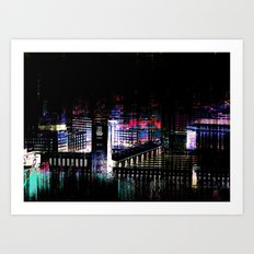 Stuttgart main station III Art Print