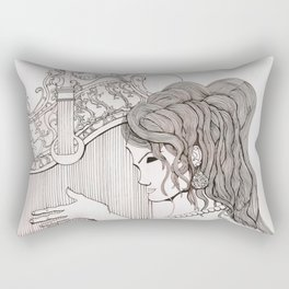 Harp Rectangular Pillow
