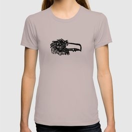 crow stamp T-shirt