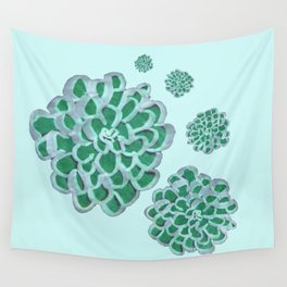 Floral Cluster Wall Tapestry