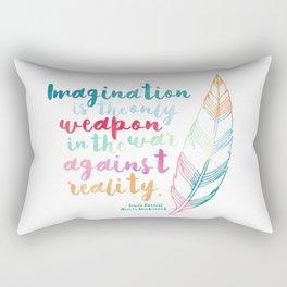 Alice In Wonderland | Quote 1 Rectangular Pillow