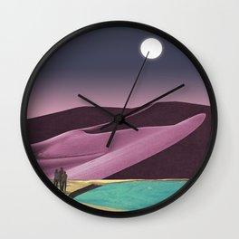Opal Desert Wall Clock