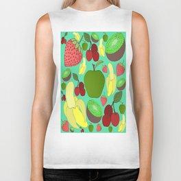 Fruit Explosion Biker Tank