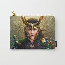 Loki- Golden Sunburst Carry-All Pouch