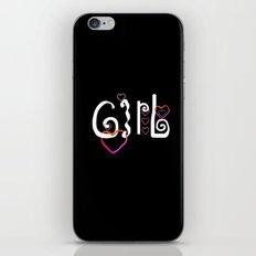 Girl & Coeur 10 iPhone & iPod Skin