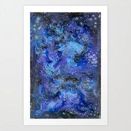 Nebulaic Eddy Art Print