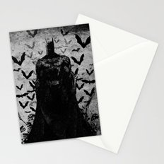 The night rises B&W Stationery Cards